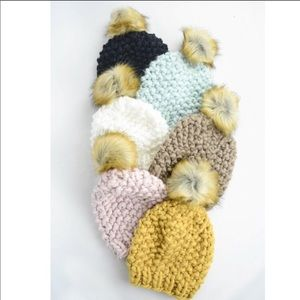 Accessories - Pom Pom Beanie Hat
